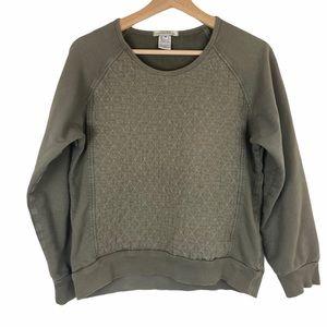 Prairie Underground Quilted Sweatshirt School Daze